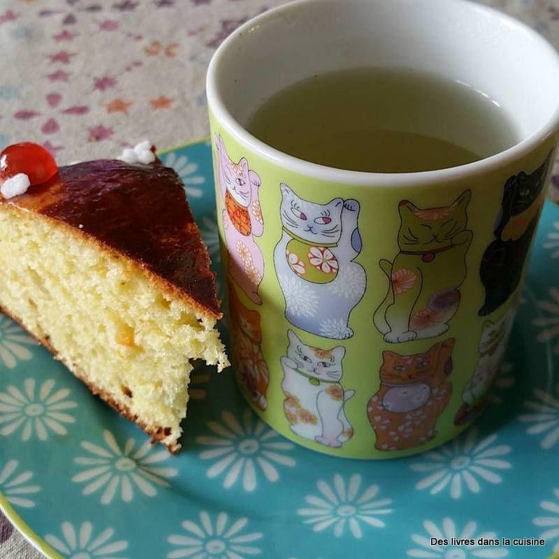 Gâteau des rois provençal en souvenir de Tatie papillon