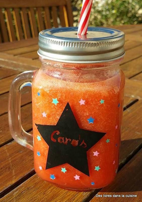 Orange, jaune, violet... à vous de choisir et de composer vos jus en fonction de vos goûts!