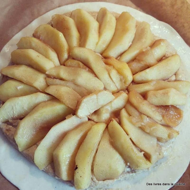 Galette des rois maison, pommes spéculoos