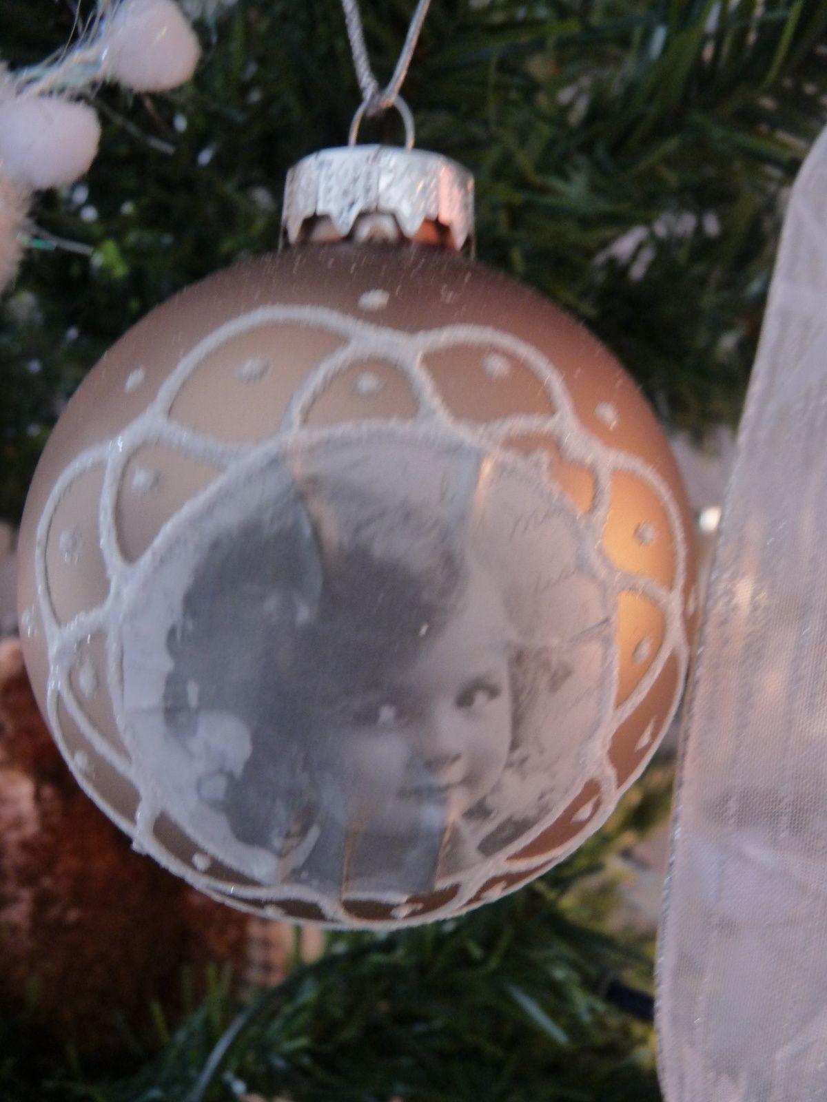 Mon Noël en blanc et bronze