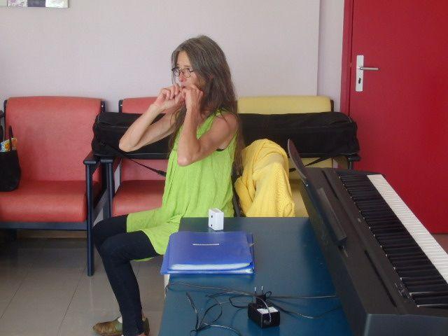 Cours de chants avec Cécile