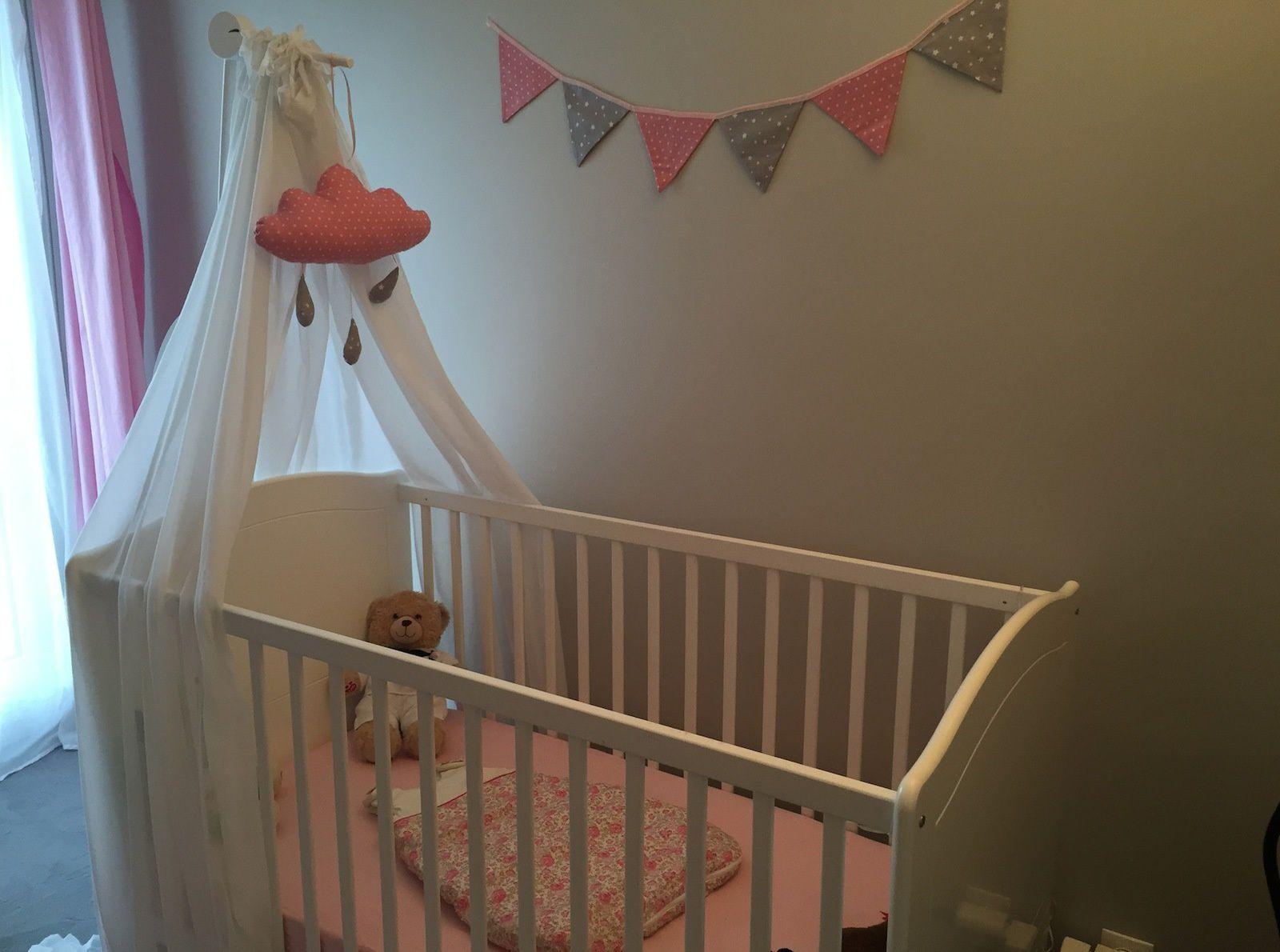 La chambre rose de ma fille