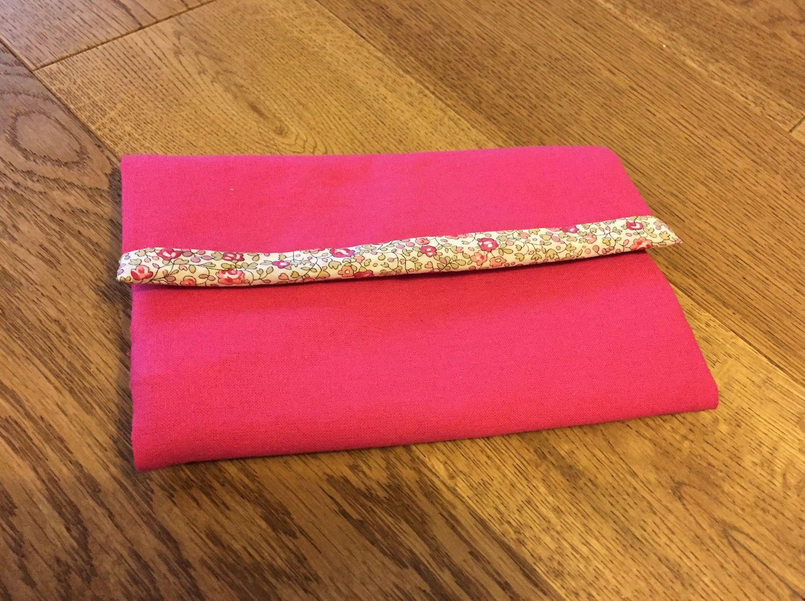 DIY n°2 - la pochette à barrettes d'Auroreling