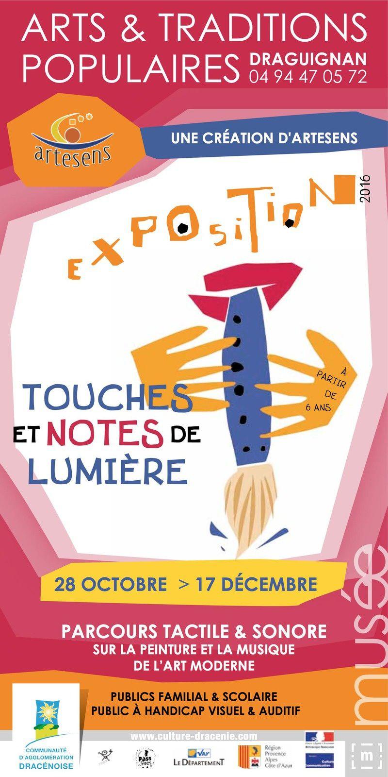 Expo : Touches et notes de lumière