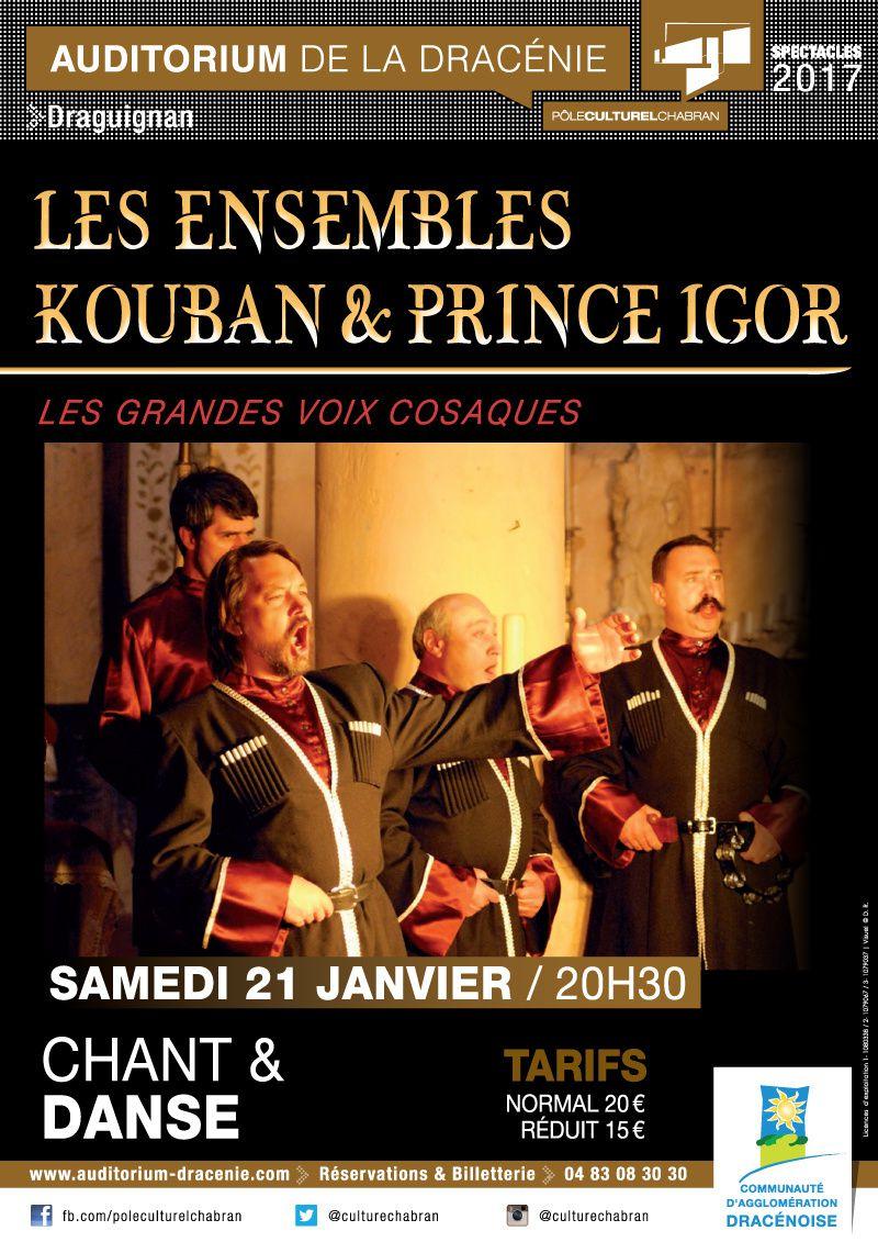 Les grandes voix cosaques : Ensembles Kouban et Prince Igor