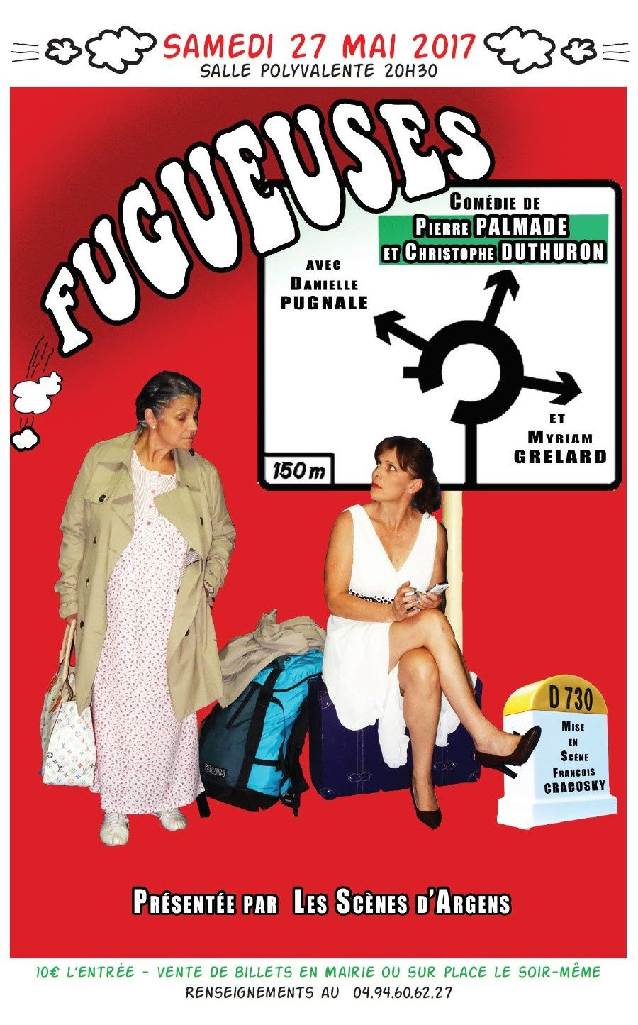 Spectacle : Fugueuses