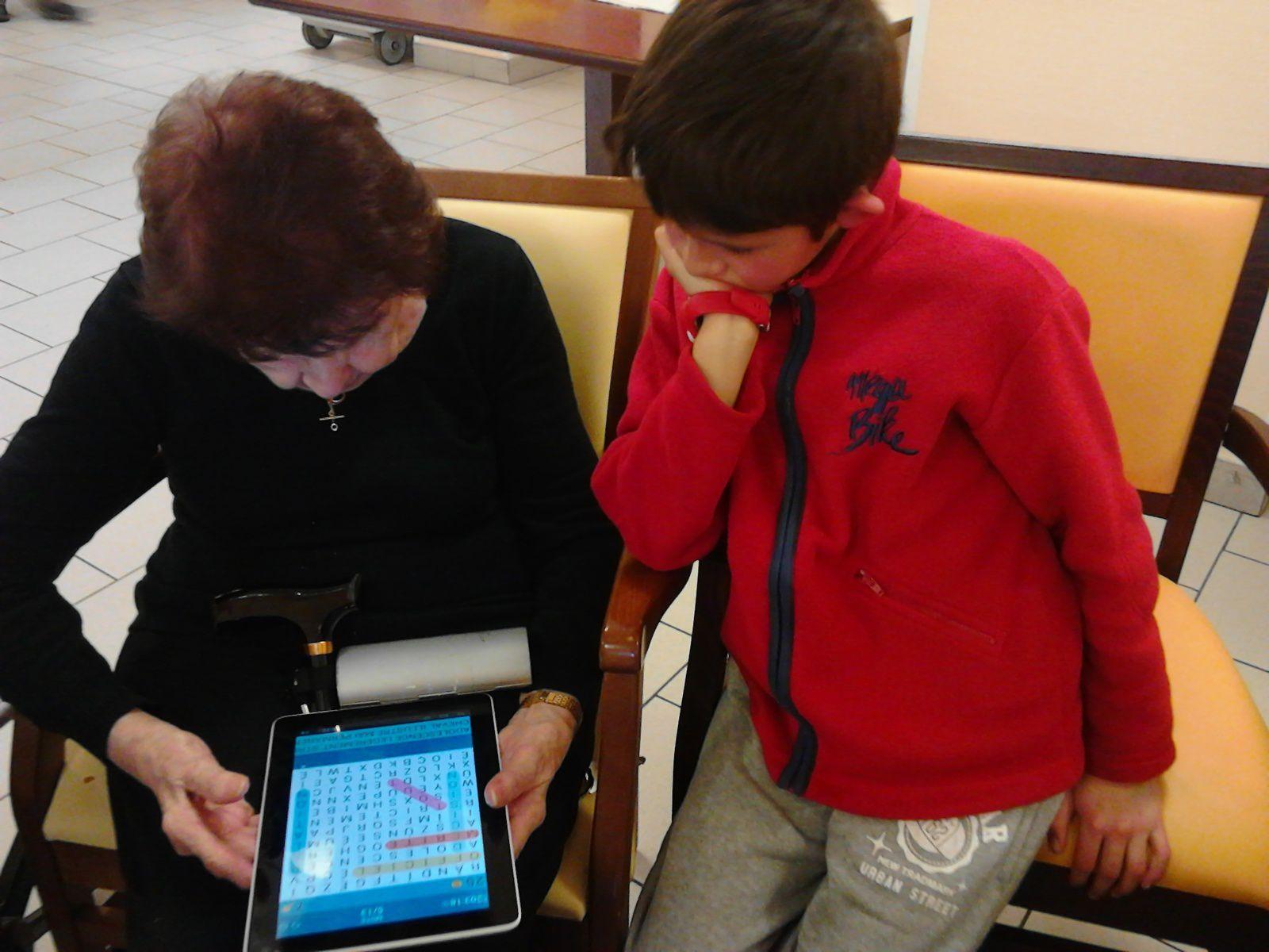 Activite rencontre intergenerationnelle