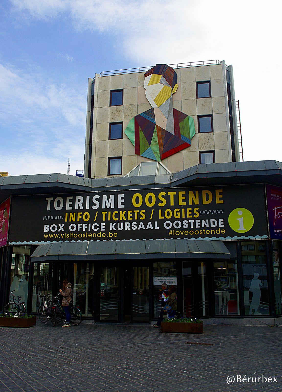 Ostende, The Crystal Ship avril 2017.