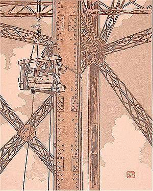 Paris 1900 : Mes chaises LES DEMOISELLES DE LA TOUR EIFFEL