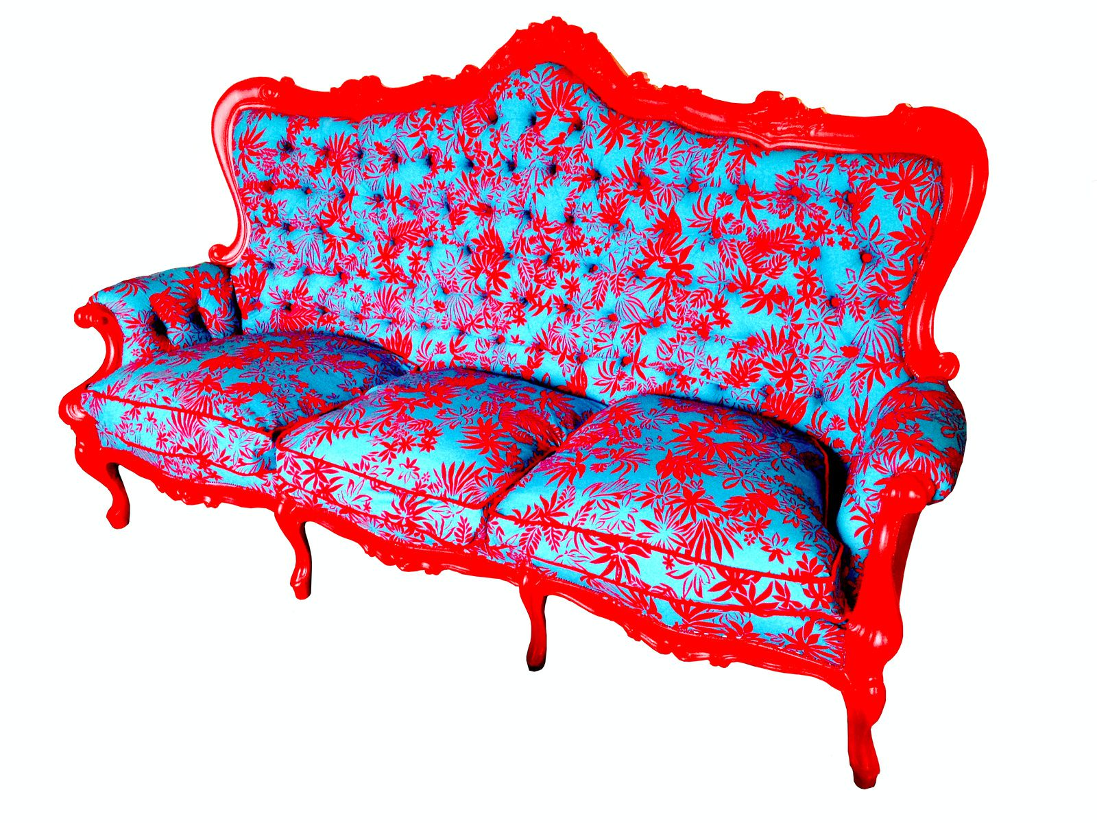 mon canap hawaii b te de salon baroque rouge bleu le blog de saucisse. Black Bedroom Furniture Sets. Home Design Ideas