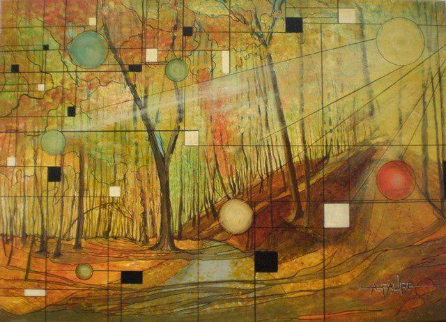 MELANCOLIE D'AUTOMNE Acrylique sur toile : 70 X 50 (550 €) Il est des paysages dont on attend toujours plus en fonction des saisons. Les forêts d'automne offrent des jeux de couleurs que seul un arc en ciel saurait résumer. Et l'on comprend pourquoi Verlaine a écrit «chanson d'automne», ce poème lui servant de pretexte et traduisant le reflet de ses états d'âme.