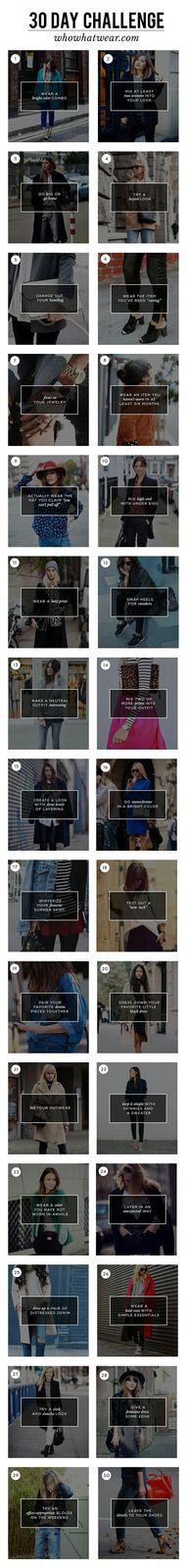 Challenge 30 jours &quot&#x3B;whowhatwear&quot&#x3B;