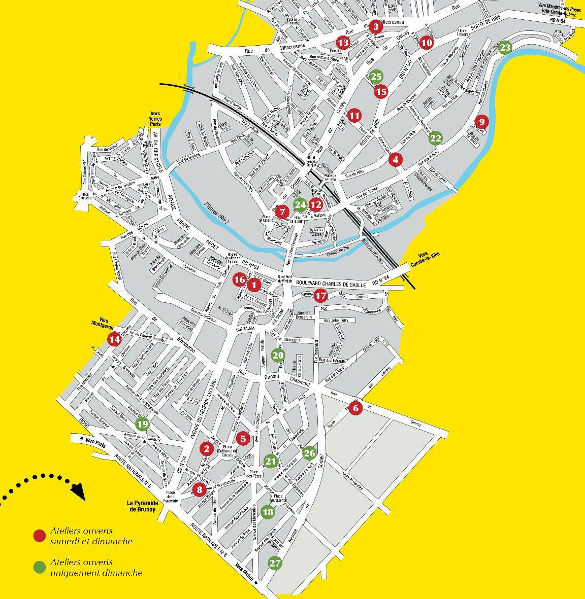 Journées Portes Ouvertes des Ateliers d'Artistes de la ville de Brunoy