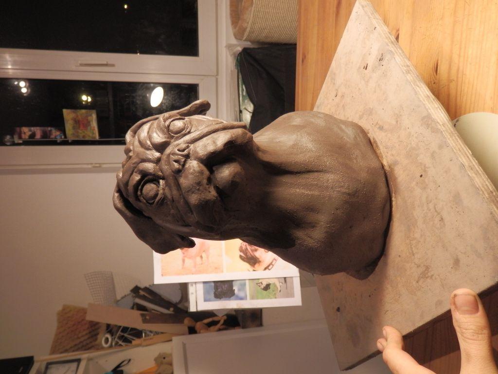 Buste de Carlin
