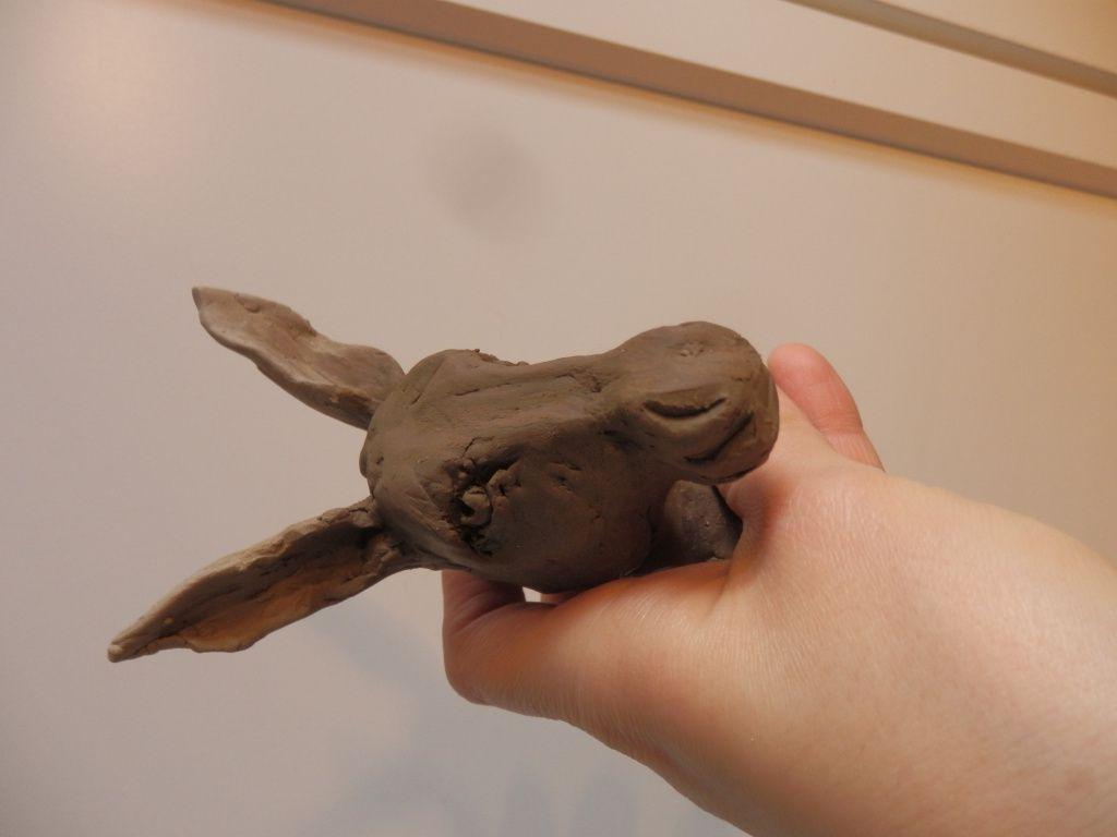 Mini bustes d'Hippopotame et d'Âne