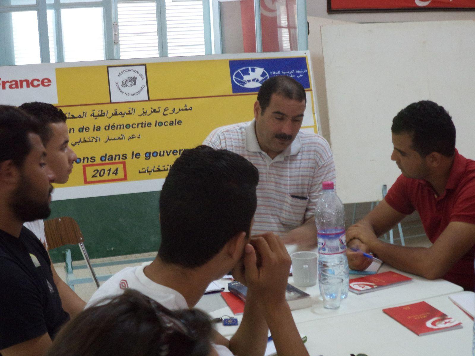 Projet promotion de la démocratie locale au Gouvernorat de Tozeur: