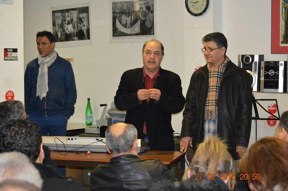 Soirée de poésie de solidarité avec le poéte Kamel BOUAGILA