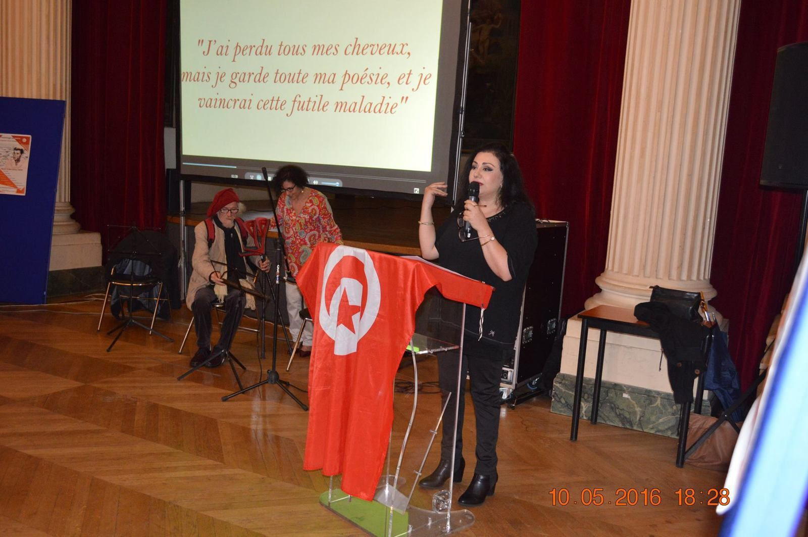 Hommage à Mohamed-Sghaier OULED AHMED, 10 mai 2016, à lea Mairie de Paris 10ième