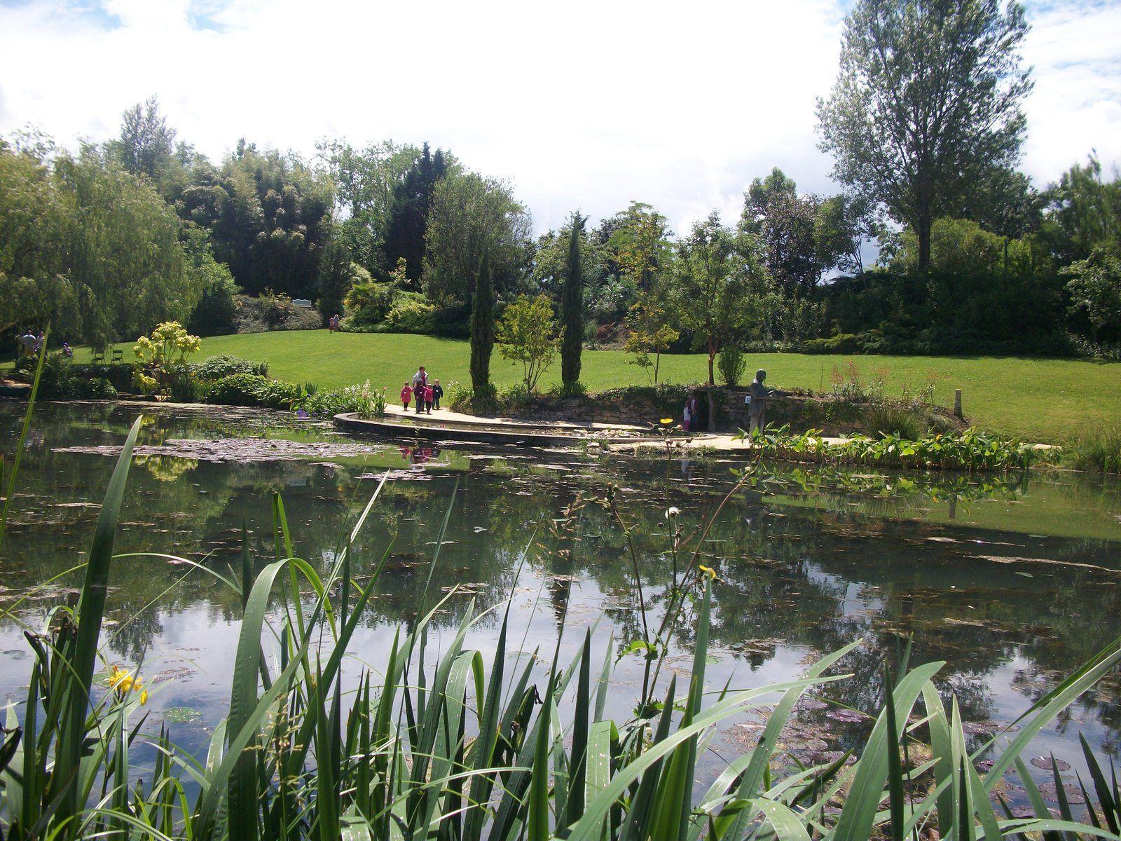 Sortie au jardin de  Latour - Marliac au Temple sur Lot Maternelle Saint-Sylvestre