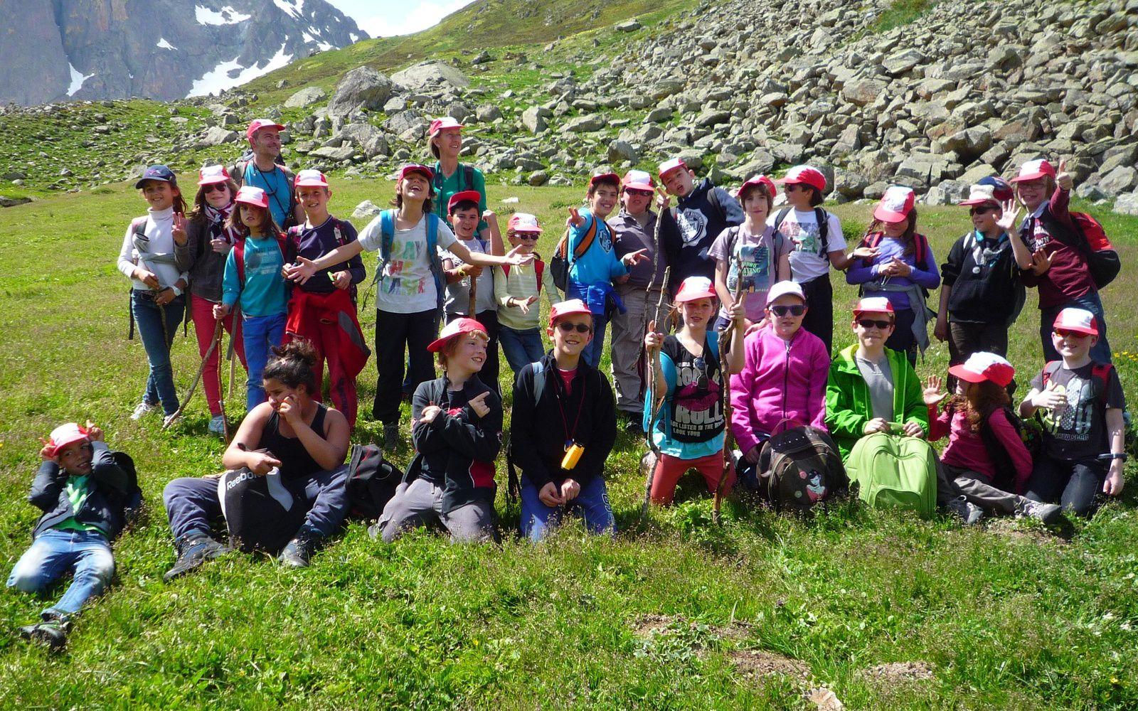 Classe verte dans les Pyrénées du cycle 3 de St Sylvestre