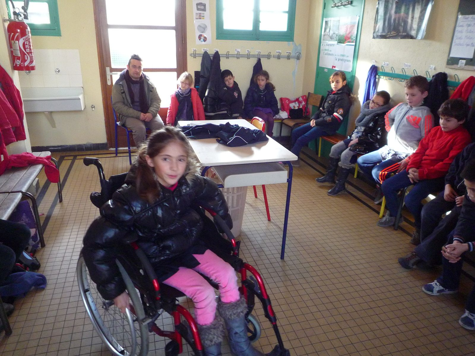 A St Sylvestre, une journée pleine d'émotions et d'apprentissages autour du handicap