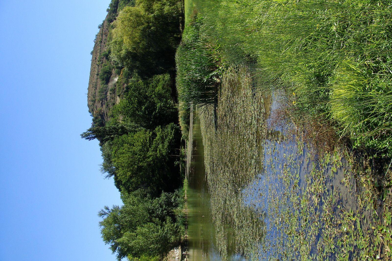 Chalabre: le lac
