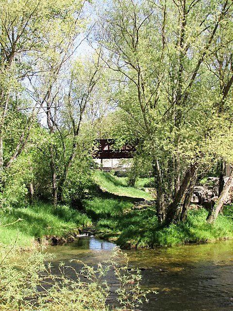 Chalabre : voie verte , le pont