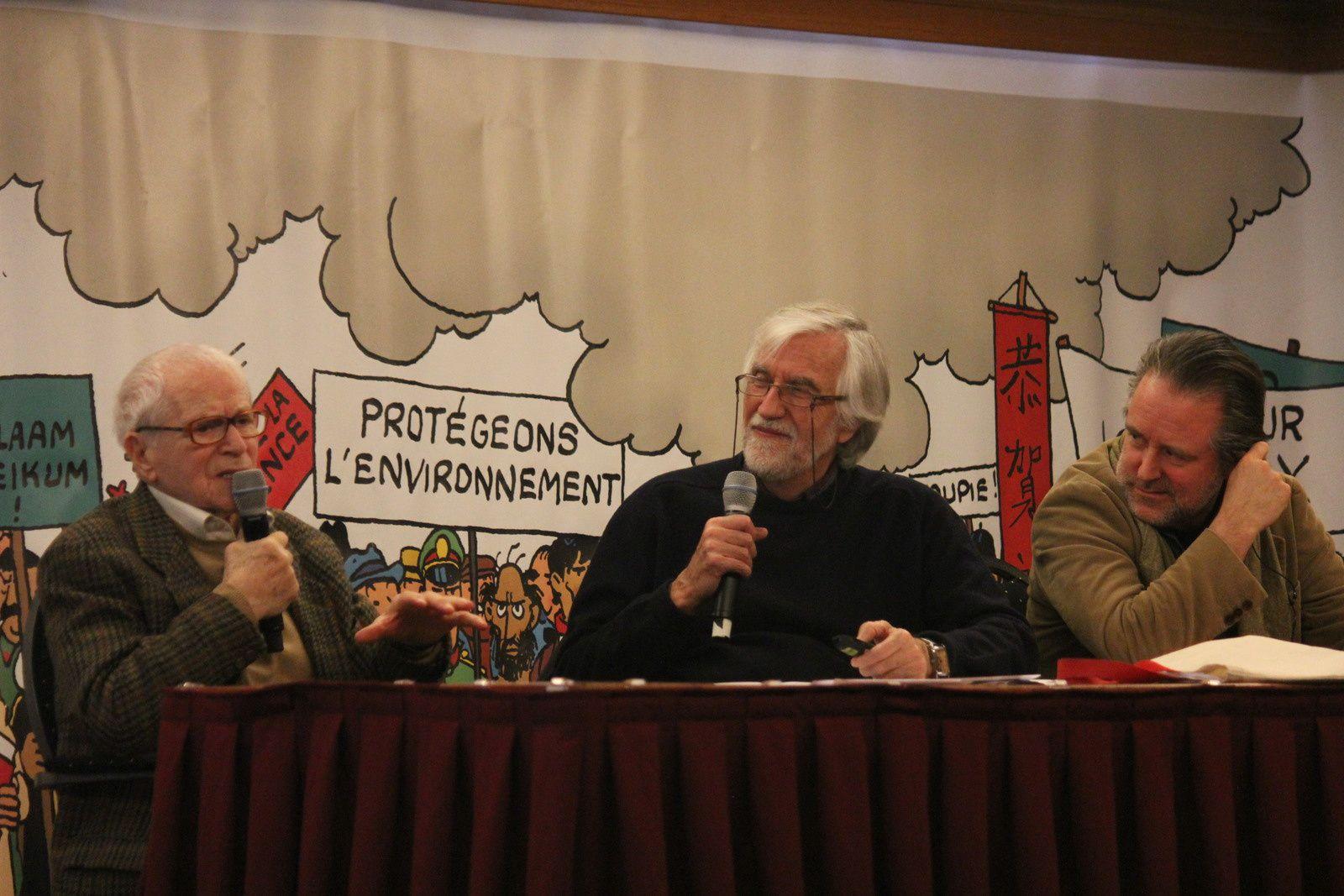 30ème Assemblée générale des Amis de Hergé (ADH), samedi 7 mars 2015 à Nivelles