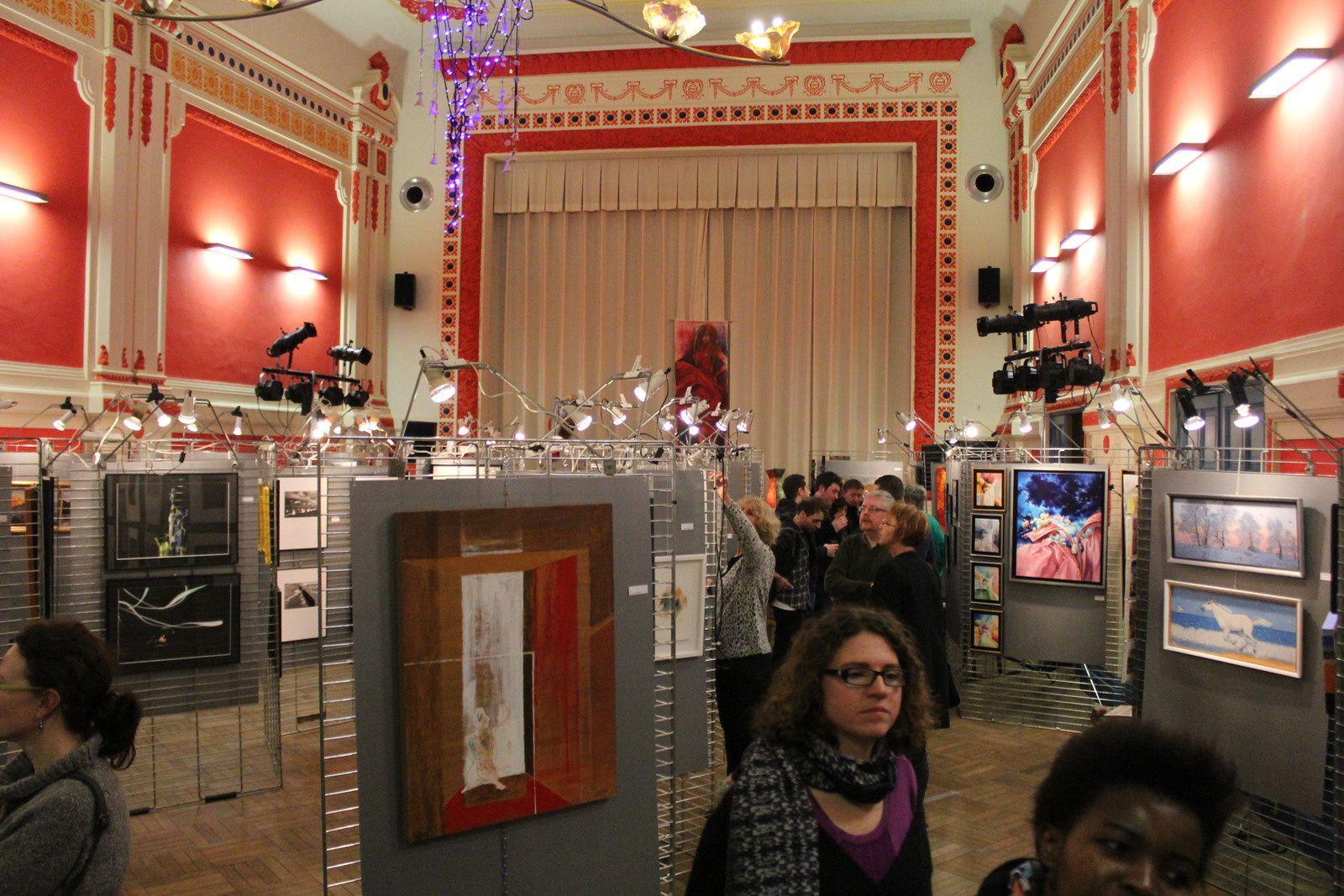 Soirée vernissage &quot&#x3B;Les Artistes locaux s'exposent&quot&#x3B; à Poulseur