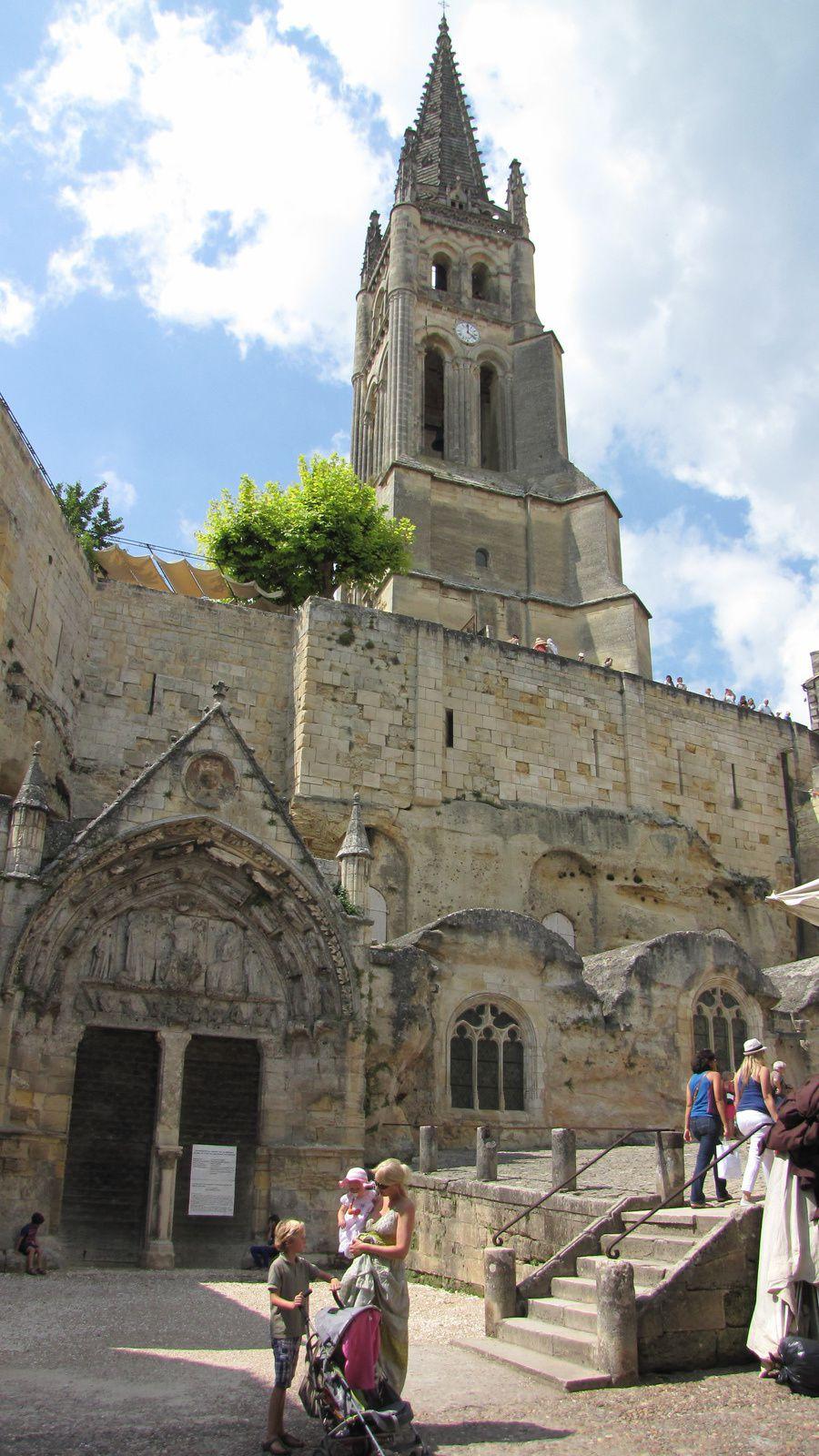 """L'église """"monolythique"""" de St Emilion"""