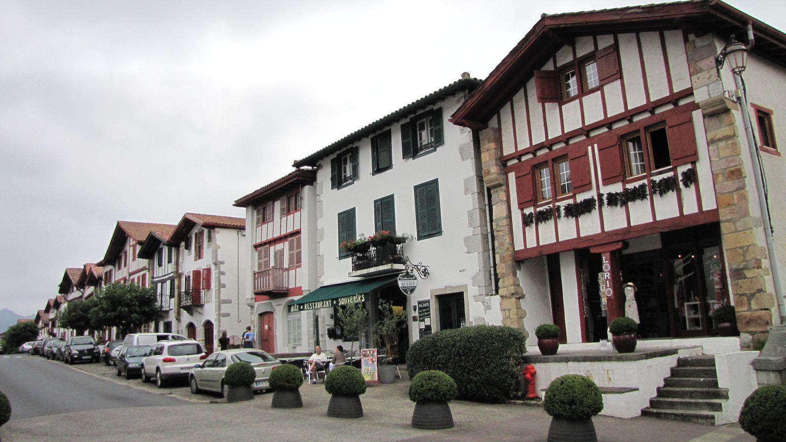 Le village basque d'Aïnhoa