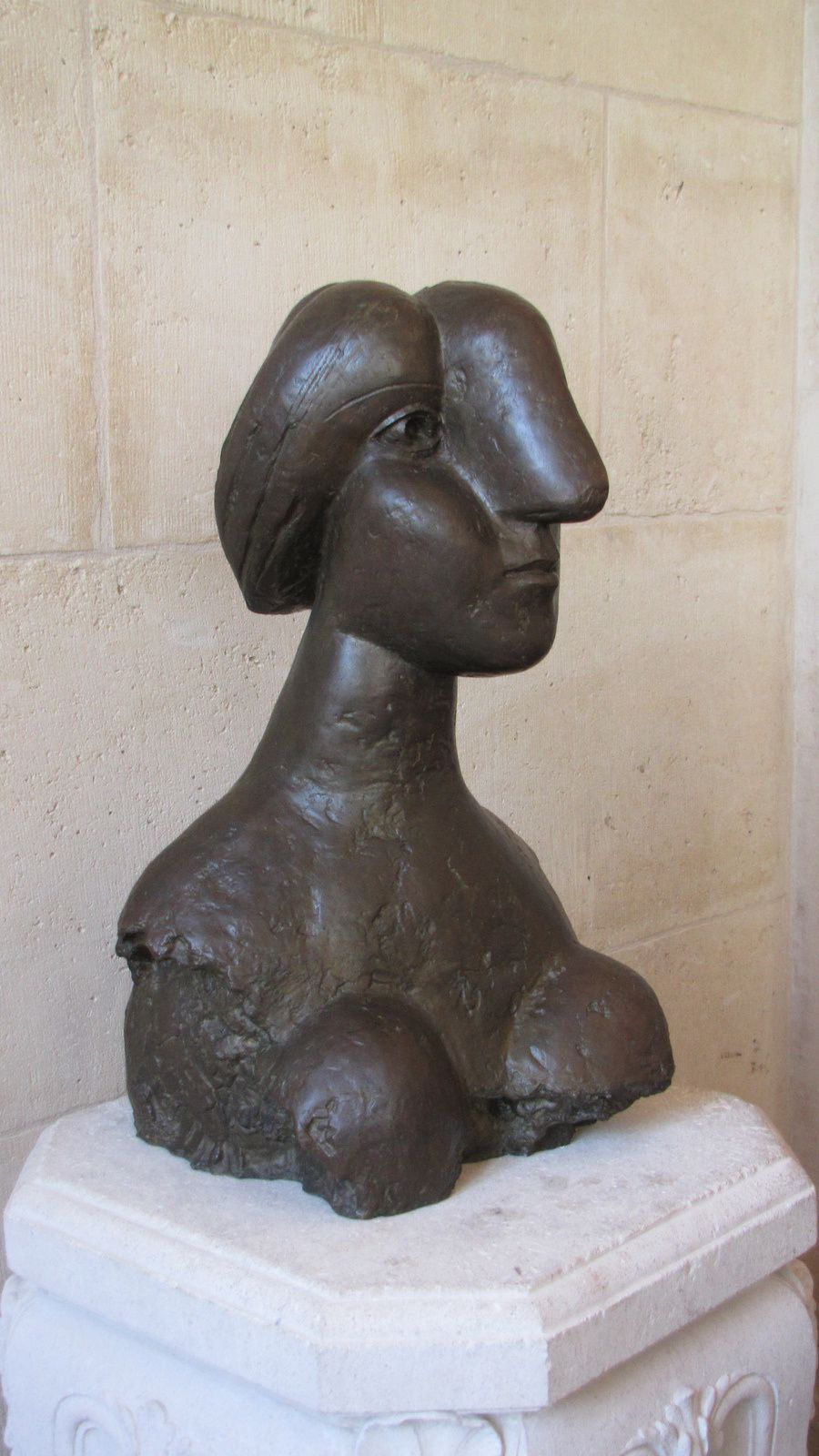 Musée Picasso ( Buste de femme)