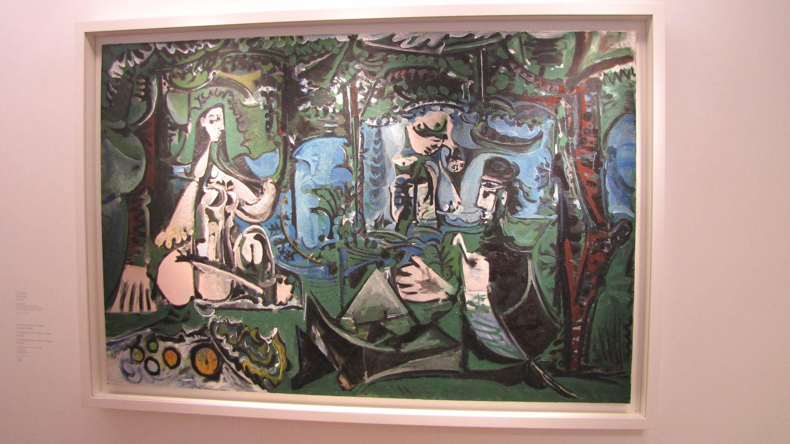 Musée Picasso (Le déjeuner sur l'herbe)