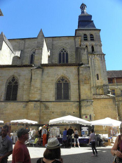 L'église de Sarlat......