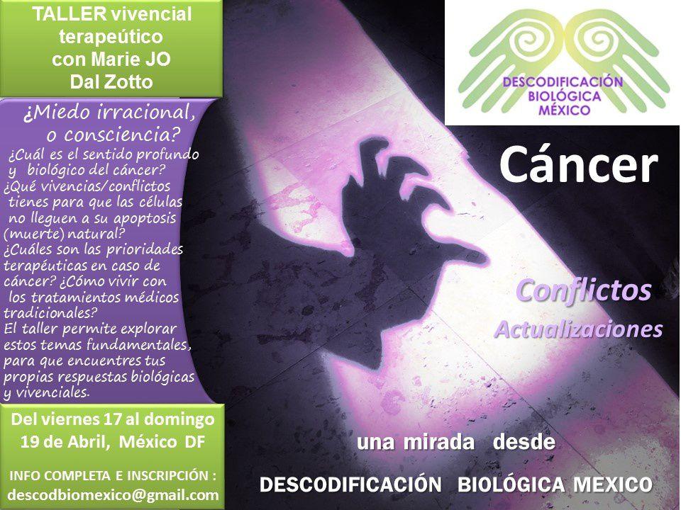 17, 18, 19 de abril: un taller temático para alumnos de Descodificación Biológica México y consultantes
