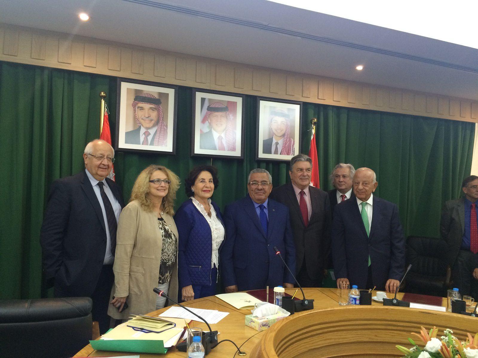 Déplacement sénatorial en Jordanie