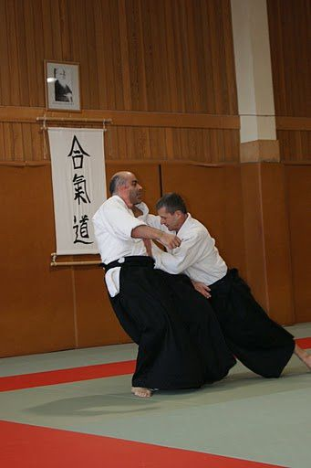 Michel LAPIERRE en action (source : Kodokan Paris XV, merci à eux !)