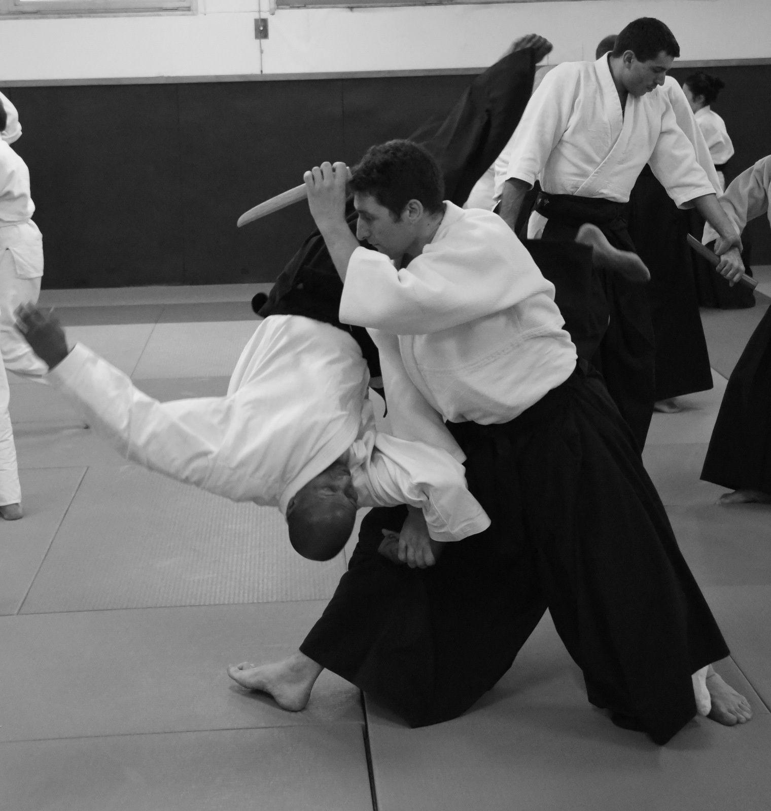 Dans la toile de l'Aïkido : Retour sur le stage de Marc Bachraty à Pantin le 12 décembre 2015