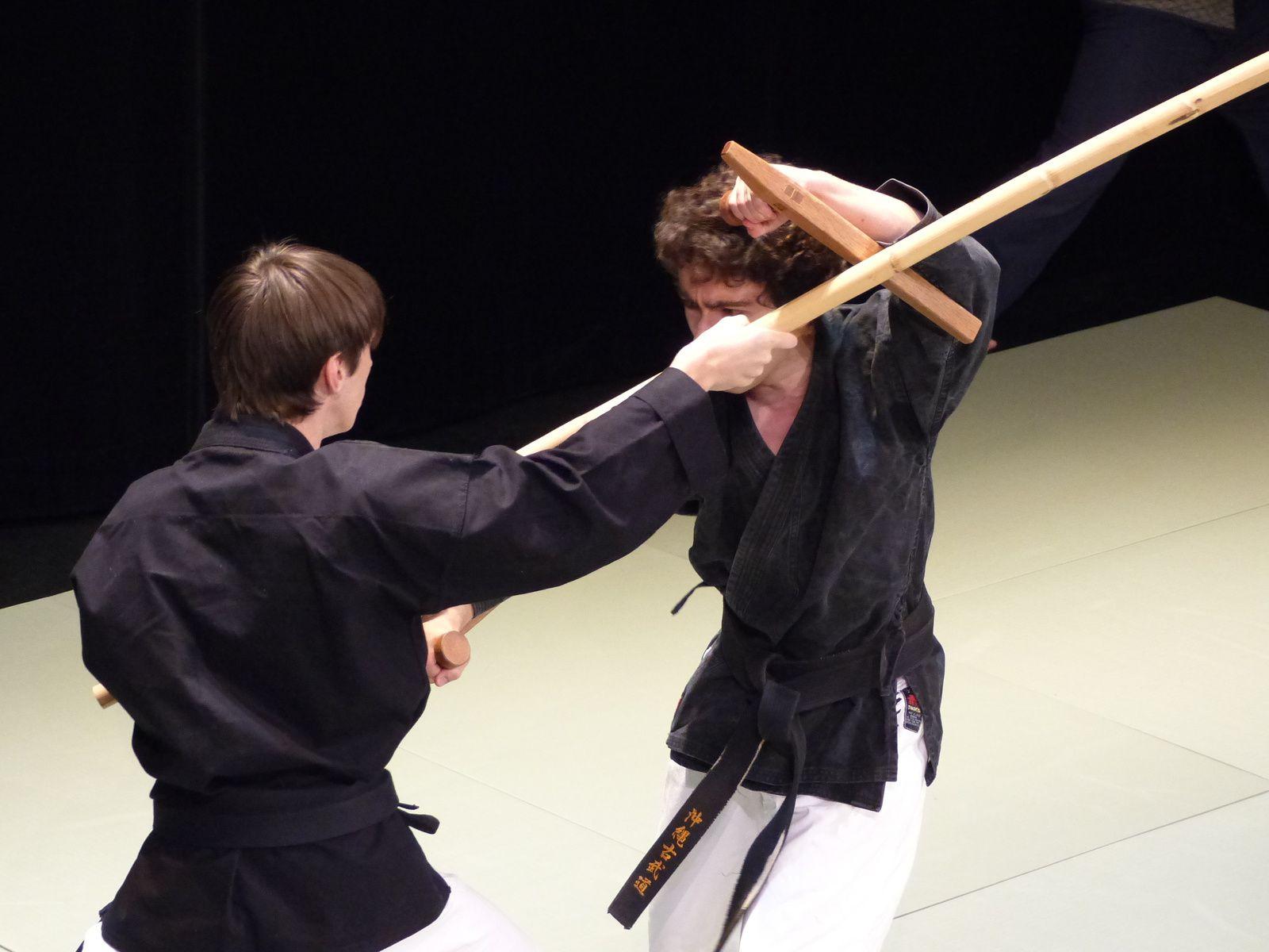 Les élèves de Seisuke Adaniya (Shorin Ryu Karate)
