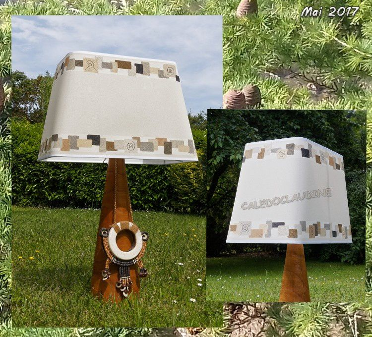 lampes et abat jour tableaux en sables. Black Bedroom Furniture Sets. Home Design Ideas