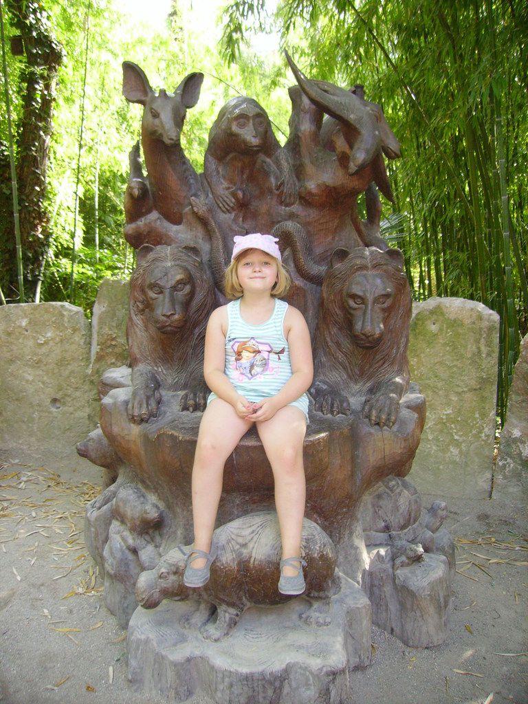 balade au bio parc de Doué