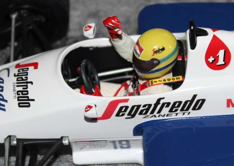 Toleman TG184 1984 Ayrton Senna .