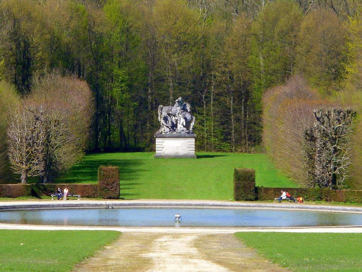 Diaporama 3 : Quelques images du parc du château (mars 2014, images personnelles)