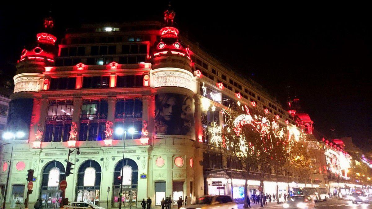 16. Illuminations des grands magasins parisiens, Noël 2014