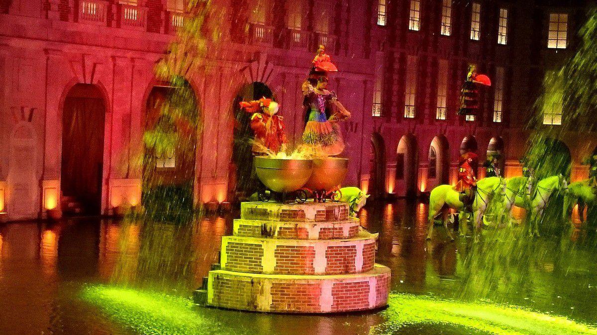 Flamenco et cascades équestres au menu des Mousquetaires de Richelieu  (août 2014, images personnelles)