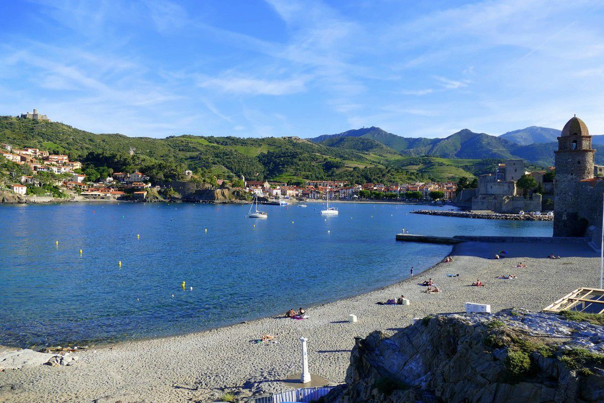 Le fort Saint Elme fait parti du paysage de Collioure (juin 2016, images personnelles)