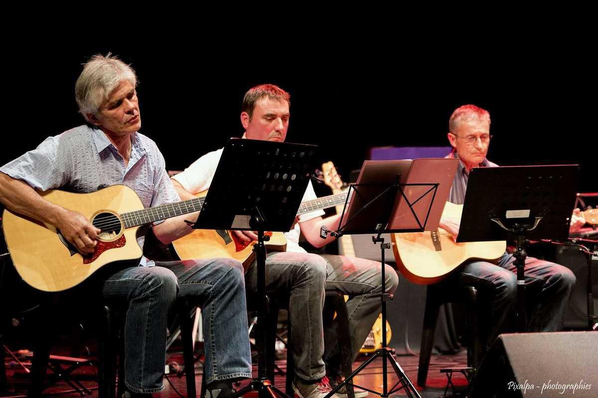 Spectacle de l'école de musique de Civray...