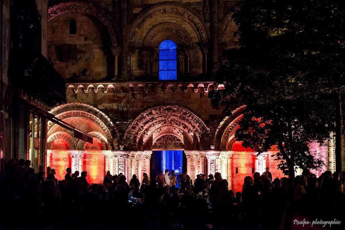 Nuits romanes 2014 à Civray...