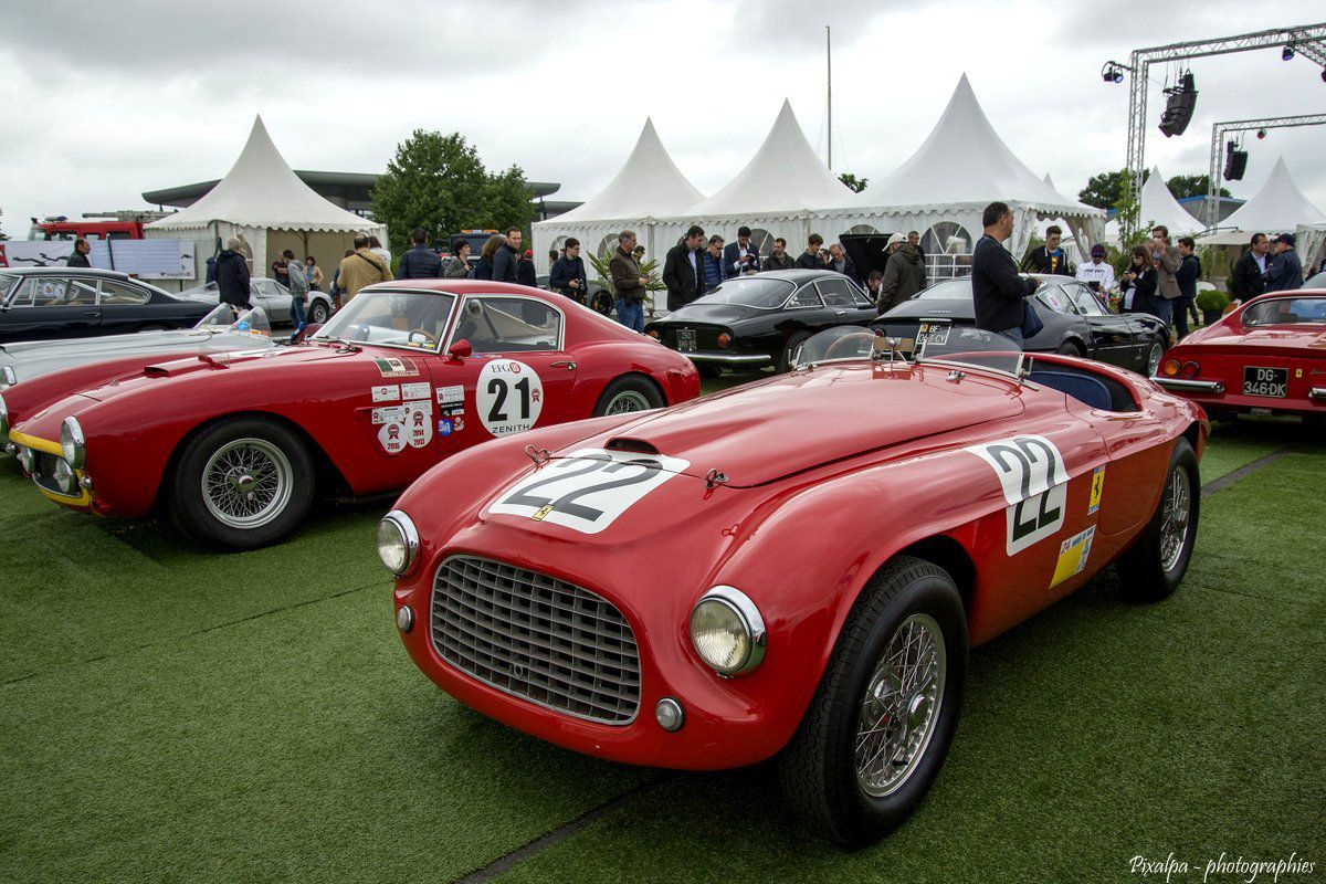 22 ème édition &quot&#x3B; Sport et Collection - 500 Ferrari contre le cancer &quot&#x3B; Circuit du Vigeant 2016