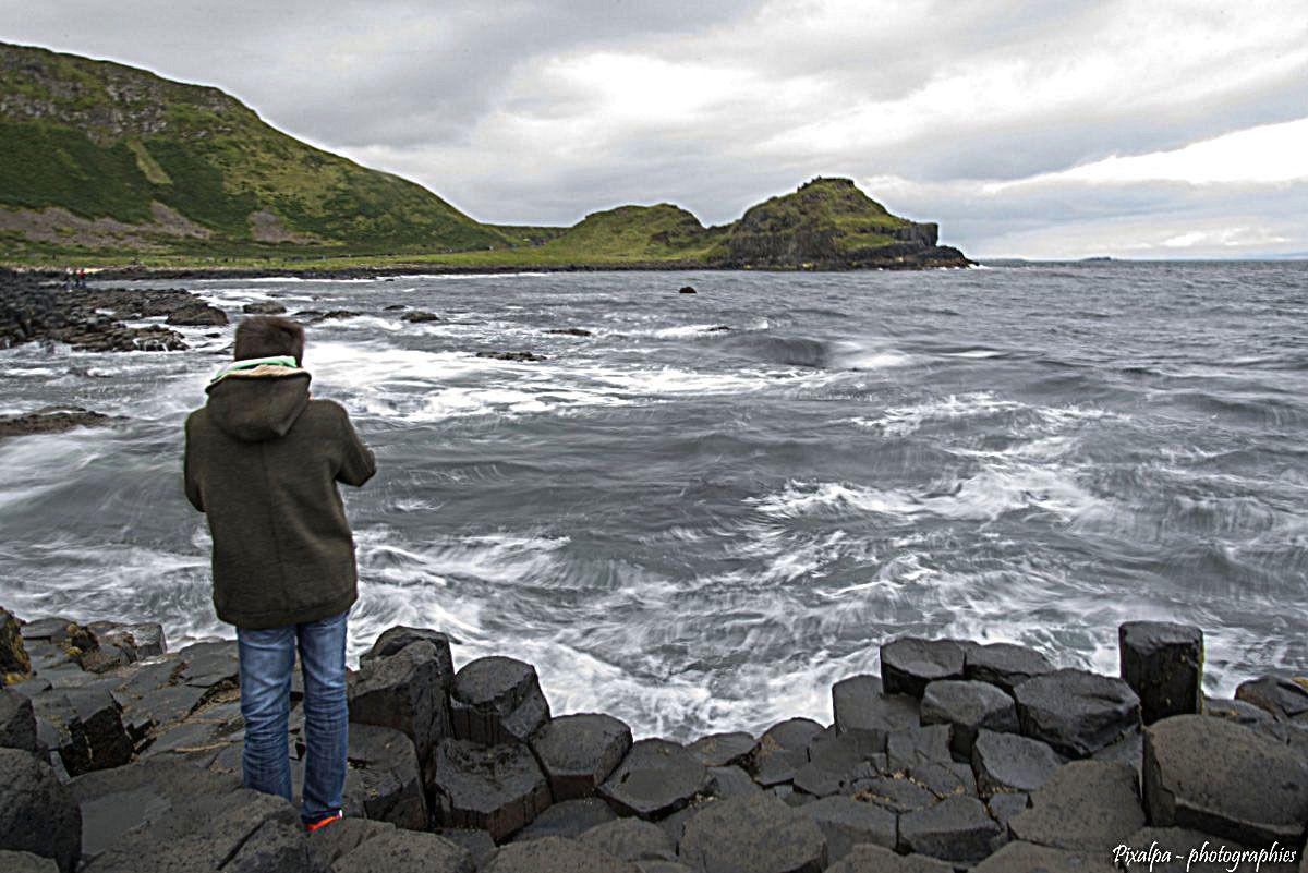 La Chaussée des géants , Irlande du Nord ....